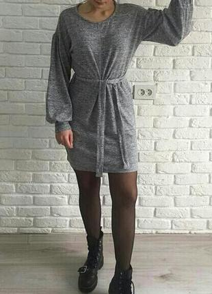 Мягкое платье под пояс primark