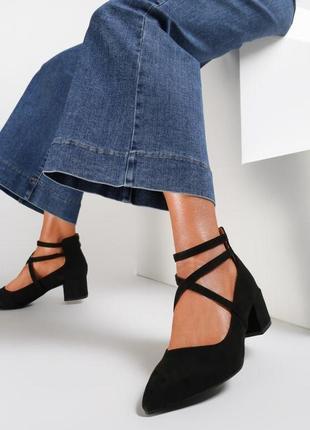 Черные туфли born2be