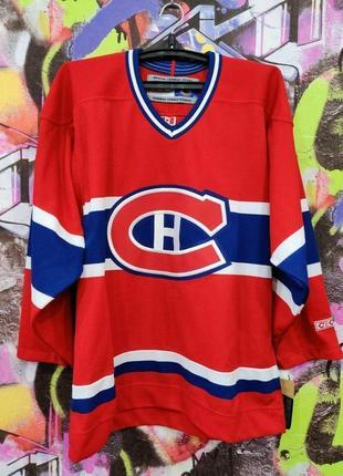Хоккейка монреаль канадиенс montreal canadiens ccm