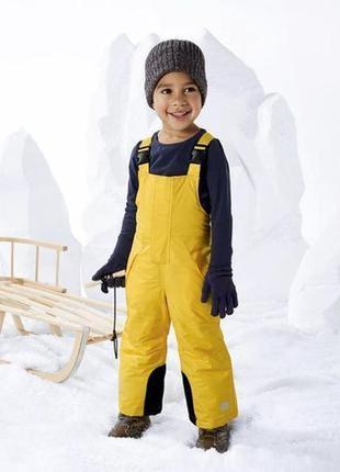 Лыжный зимний термо комбинезон для ребенка 86-92 см lupilu