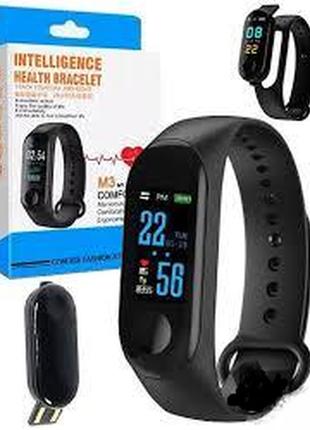 Фитнес браслет intelligence health bracelet м3