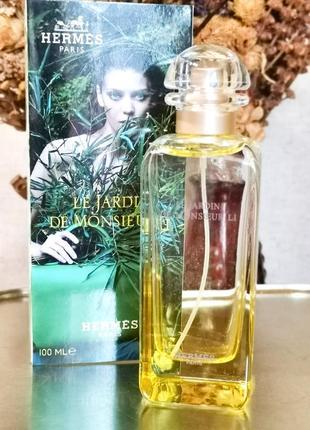Оригинал 🎀 hermes le jardin de monsieur li 100 ml, парфюм, духи, ниша, унисекс