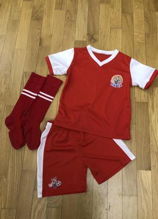 Детская футбольная форма шорти футбольна форма футболка