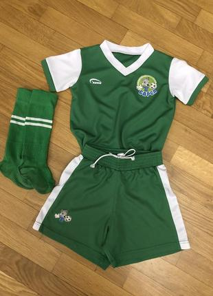 Детская футбольная форма дитяча футбольна форма шорти футболка