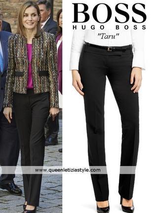 Классические шерстяные брюки немецкого премиум бренда hugo boss.