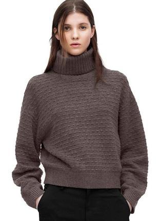 Теплый шерстяной свитер filippa k