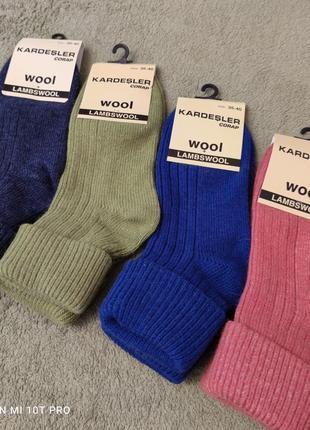 Женские носки шерсть