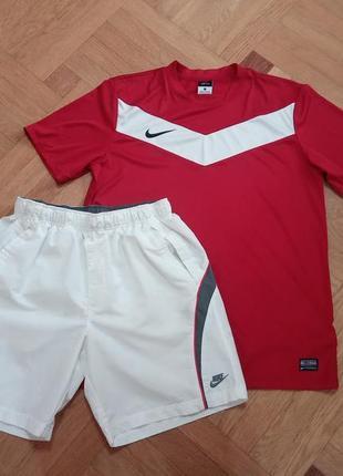 Спортивний комплект nike розмір l-m оригінал шорти футболка