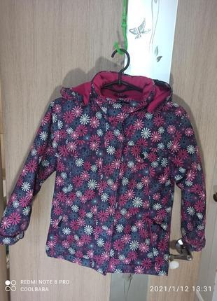 Термокуртка для девочки лыжная курточка