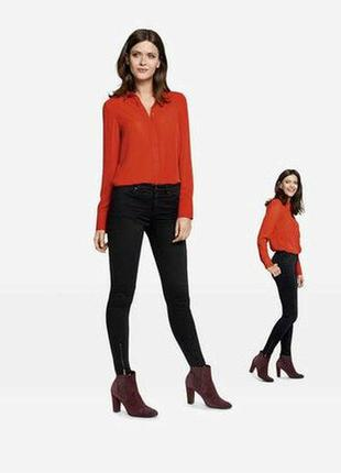 Женские джинсы super skinny с замочками esmara германия, коллекция heidi klum