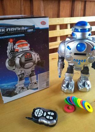 """Робот """"космічний воїн"""" з радіоуправлінням синій"""