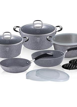 Набор посуды berlinger haus stone touch line bh-6176 13 предметов