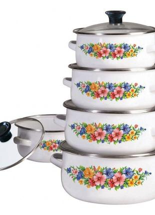 Посуда klausberg 10ч kb7169/3709 (1.4л; 2.0л; 2.8л; 3.7л; 5.0л)