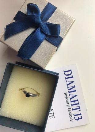 Очень красивое кольцо белое золото и бриллианты1 фото
