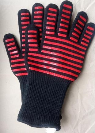 Термостойкие защитные перчатки wumart для барбекю, гриля, духовки, выпечки