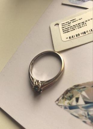 Очень красивое кольцо белое золото и бриллианты5 фото