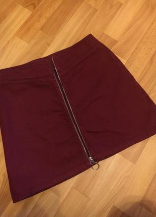 Трапециевидная юбка asos