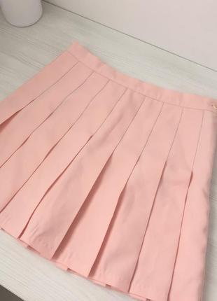 Теннисная юбка. юбка в складку