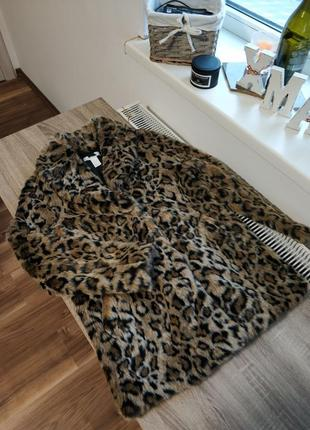 Шикарная леопардовая шуба. тренд сезона