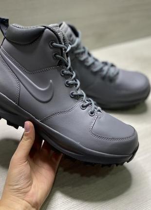 Оригінальні чоловічі черевики nike manoa