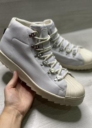 Оригінальні чоловічі черевики adidas  boots goretex pro model chalk white