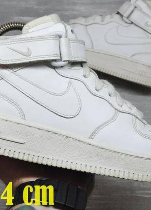 Nike force высокие кожаные 38рр.