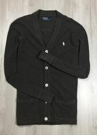 F7 кардиган ralph lauren серый свитер кофта джемпер ральф лоурен