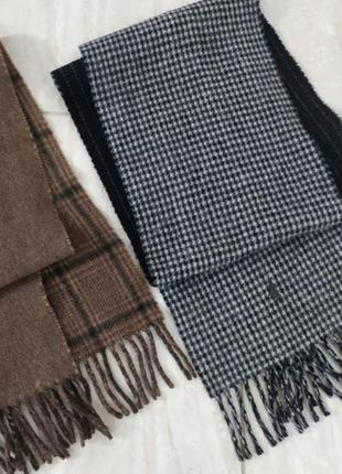 Двухсторонний шарф polo ralph lauren