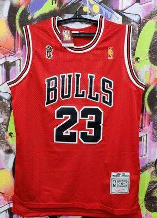 Баскетбольная майка чикаго булз майкл джордан chicago bulls michael jordan