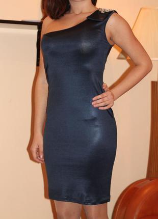 Роскошное синее платье kor-a-kor оригинал, италия, размер s