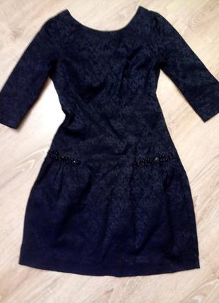 Вечернее платье ткань жаккард