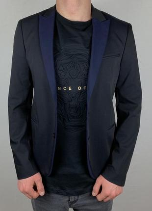 Zara black tag blazer современный приталенный пиджак купить киев