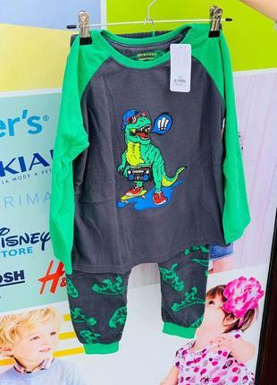 Флисовая пижама на мальчика примарк