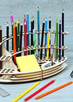 Карандашница-органайзер для канцелярских принадлежностей (2240)