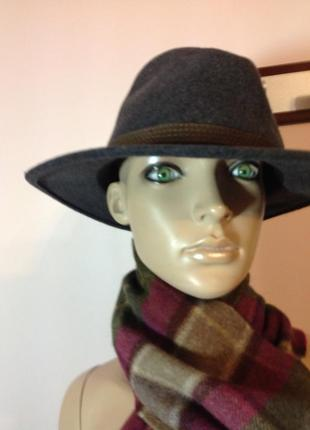 Шикарная мужская шерстяная шляпа /l/ xl/ 60/7:1/2brend crushable