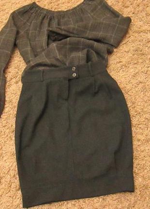 Стильная юбка-карандаш- баллон «axara »