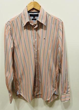 Мужская рубашка tommy hilfiger p. s #694 sale❗️❗️❗️black friday❗️❗️❗️