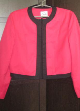Пиджак короткий travilla uk 14 винтаж
