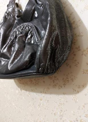 Шикарная сумка, фирменная сумка натуральная кожа3 фото