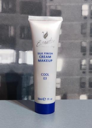 Тон для лица beauty silk finish cream make up 30ml (1/2)
