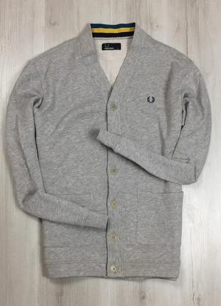 F7 кардиган fred perry фред перри кофта свитер пуловер джемпер