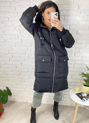 Куртка пуховик новый зимний размер м