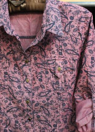 Рубашка женская коттоновая