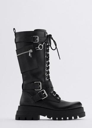 Сапоги, ботинки, обувь zara