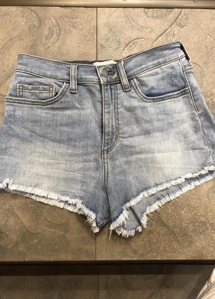 Шорты джинсовые pink victoria's secret zara hm