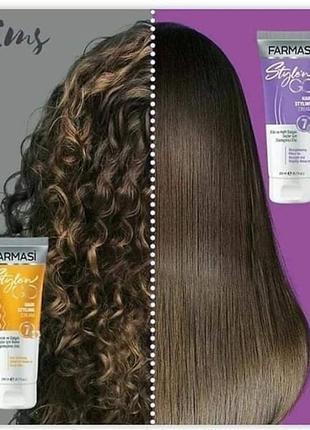 Крем-стайлінг для кучерявого волосся2 фото