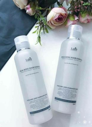 Lador eco silk-ring hair essence - шовкова есенція для пошкодженого і сухого волосся