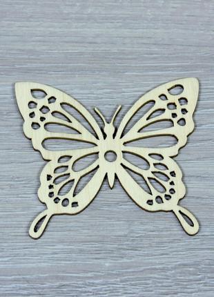 Деревянные бабочки для декора (форма №3) (2250)