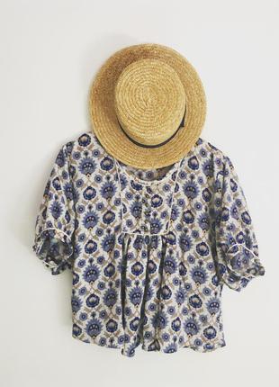 Блуза в восточном, бохо, этно стиле