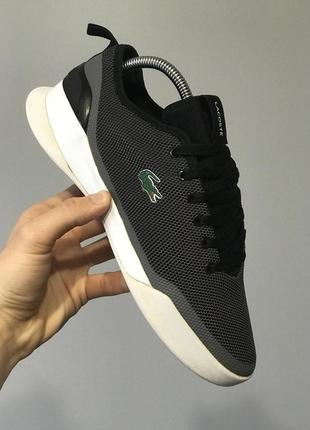 Оригинальные кроссовки от люкс бренда lacoste